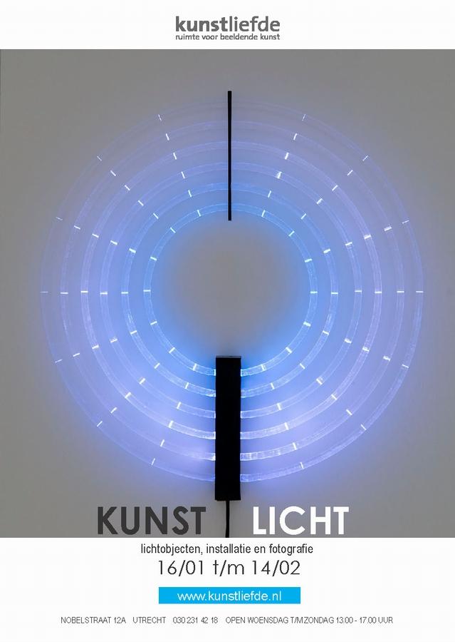 Flyer-uitnodiging KUNSTLICHT - Kunstliefde voorzijde jpeg